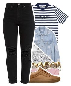 """Pull Up~"" by superdaddy ❤ liked on Polyvore featuring NLY Accessories, Gentle Monster and Vans"