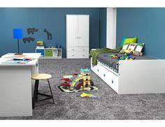 Dětský pokoj Combee 5 Sestava dětského nábytku vysoce nadčasového designu. Pokoj je vyroben z melaminované dřevotřísky, která je vysoce odolná vůči mechanickému poškození o síle 15, 18 a 22 mm. Úchytky jsou dodávány ve 3 … Kids Room, Toddler Bed, Rugs, Furniture, Design, Home Decor, Child Bed, Farmhouse Rugs, Decoration Home