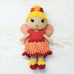 Amigurumi Fairy Doll - Free crochet pattern by Amigurumi Today