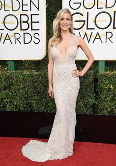 TV Personality Kristin Cavallari attends the 74th Annual Golden Globe Awards.