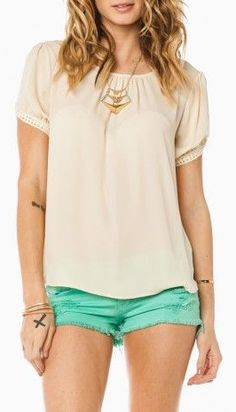 Love the shape of the shirt... not color...