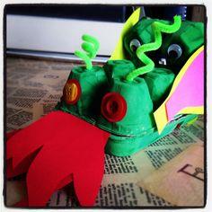 Egg Box Dragon!
