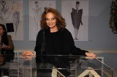 "Diane von Furstenberg Photo - Private Preview of the Exhibition ""BALENCIAGA: Spanish Master"" at Queen Sofia Spanish Institute"