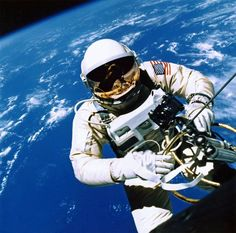 Ed White, Gemini 4 spacewalk, 1965