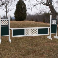 "The Center Lattice Panel gates are made of 1"" x 4"" high quality wood, light weight yet durable, commercial grade plastic lattice in the center with 2 solid colored wood panels on the outside. Lattice"
