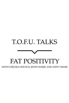 Talks live chat on fat positivity in the vegan community, and find out what resources the guests recommend if you wish to learn more. Trust Me, Body Image, Oppression, Worlds Of Fun, Compassion, Feminism, Fat, Positivity, Vegans