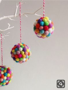 34 Unique Christmas Tree Decorations - 2018 Ideas for Decorating Your Christmas . 34 Unique Christmas Tree Decorations - 2018 Ideas for Decorating Your Christmas . Unique Christmas Trees, Handmade Christmas Decorations, Christmas Crafts For Kids, Diy Christmas Ornaments, Beautiful Christmas, Christmas Fun, Holiday Crafts, Holiday Ideas, Disney Christmas