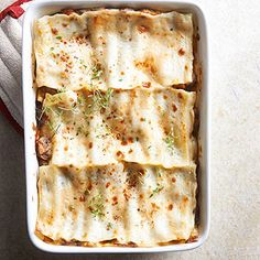 Short Rib Lasagna From Better Homes and Gardens