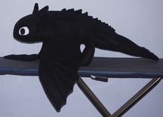 Sewing Pattern Toothless the Dragon Plush by DragonsToothCrafts