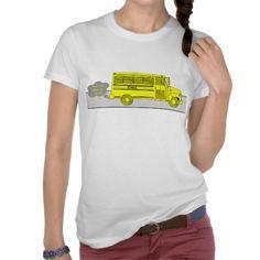 Back to School Bus Tee Shirt