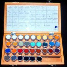 BÖKE & FRITZ, Dipl.Restauratoren -Vertrieb & Shop re:store für Referenzmaterialien in der Restaurierung 33 pigments, standard