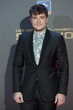Josh Hutcherson 'The Hunger Games: Mockingjay - Part 2' Premiere at the Kinepolis Cinema on November 10, 2015 in Madrid, Spain.