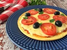 Pizza low carb prática