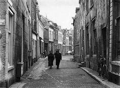 1958 | Lange Lauwerstraat vanaf de Oudegracht