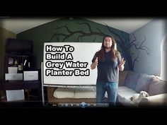 Permaculture Tip of the Day - How to Build a Grey Water Planter Bed - School of Permaculture