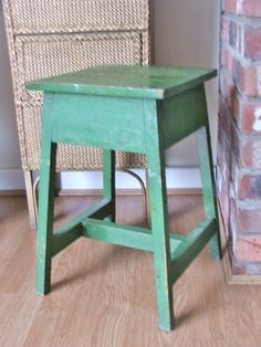 A stool or a night stand/ end table for my bed.