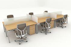 Workspace Desk, Office Desk, Desk Dividers, Commercial Office Space, Office Workstations, Reception Seating, Office Furniture Design, Work Stations, Interior Sketch