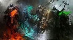 horse, Warrior, Four Horsemen Of The Apocalypse, Fantasy Art Wallpapers HD / Desktop and Mobile Backgrounds Dark Fantasy, Fantasy Art, Four Horsemen Of The Apocalypse Tattoo, Psychic Dreams, Angels And Demons, Fantasy Illustration, Mythical Creatures, Dark Creatures, Weird Creatures