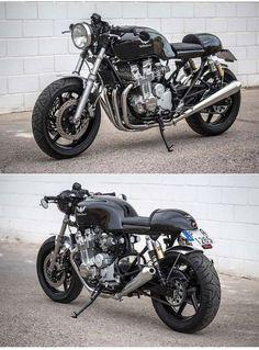 Honda CB750 Seven Fifty Cafe Racer http://caferacerpasion.com/honda-cb750-seven-fifty-cafe-racer-the-bike-special/