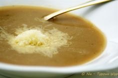 #Onion #Soup with Cheese // Zupa cebulowa z serem