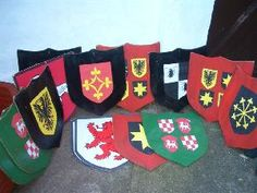 Banner Medieval Shield | Medieval Banners, Flags & Props for hire | For Hire | Classique ...