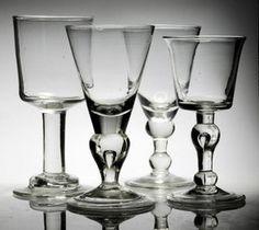 Georgian antique 18th century 19th century collectors drinking glass