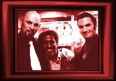Anton LaVey Daughter | Sammy Davis Jnr with Satanists Anton Lavey & Aquino