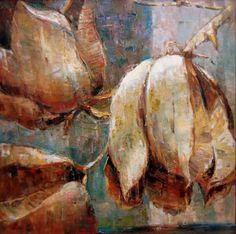 Desert Pods, painting by artist Julie Ford Oliver