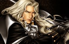 Castlevania's Alucard, son of Dracula. As his name suggests, he is the opposite of his father... Besides that, don't quiz me on more details because this is another character I'm really not f...