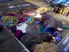 Little Italy Chalk Art in Street Art Festival San Diego Part 2