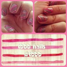 on instagram - cupcake nails