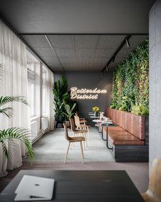 Lounge Design, Cafe Design, Office Space Design, Office Interior Design, Office Interiors, Medical Office Interior, Design Offices, Modern Offices, Modern Interior
