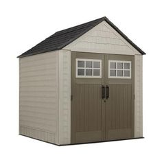 Rubbermaid Big Max 7 ft. x 7 ft. Storage Shed-1887154 - The Home Depot