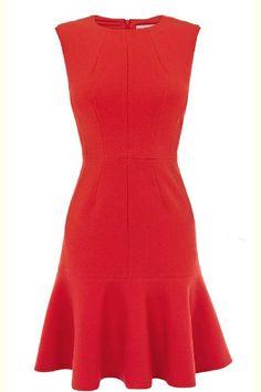 Sleeveless scoop-neck figure-flattering dress _Dresses(d)_DESIGNER_Voguec Shop