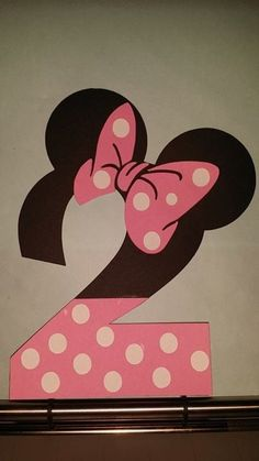 Idea for Minnie Mouse birthday party decor