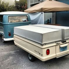Vw bus and apache eagle camper