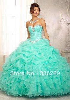 vestidos de 15 años rosa 2014 longitud vestido de novia