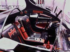 The 'Batmobile' interior on 'Batman TV Series' Real Batman, Batman Tv Show, Batman Tv Series, Batman Art, Batman And Superman, Batman Robin, Batman Batmobile, Batman 1966, Original Batmobile