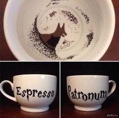 Espresso Patronum крутая кружка)