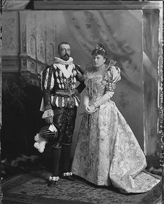 Sofia Torby with her husband, 1897