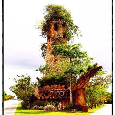 Xcaret Memorial, Quintana Roo, Mexico.