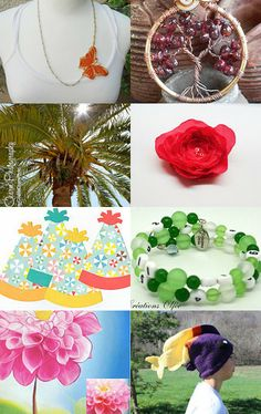 Spring is Here by lilydc on Etsy--Pinned with TreasuryPin.com