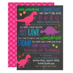 Our Little Dinosaur Kids Birthday Invitation #Birthday #BirthdayInvitations #BirthdayInvites Girl Dinosaur Birthday, Dinosaur Birthday Invitations, Dinosaur Party, First Birthday Parties, First Birthdays, Colored Envelopes, Custom Invitations, Holiday Cards, Invite