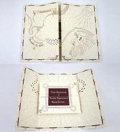 romance managed, full version - harry potter inspired invitation, Wedding invitations