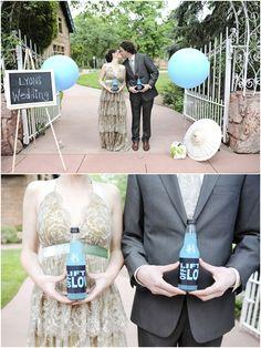 Soda Wedding Favors