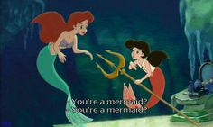From Disney's The Little Mermaid II Return To The Sea