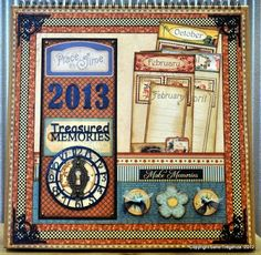 Gallery: A Place in Time calendar series by the 2012 Graphi...