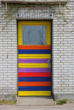 Hov, Midtjylland, Denmark - Johna Beall Real Estate in Seattle Grand Entrance, Entrance Doors, Doorway, Cool Doors, Unique Doors, Knobs And Knockers, Door Knobs, Doors Galore, When One Door Closes