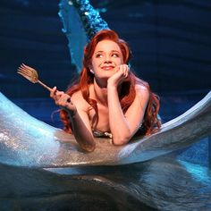 So she's basically her own Disney Princess, only better. | Community Post: 10 Reasons Broadway's Sierra Boggess Is The Most Perfect Human Alive
