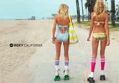 Rollerblading on Venice Beach should get a rollerblading girlfriend!!